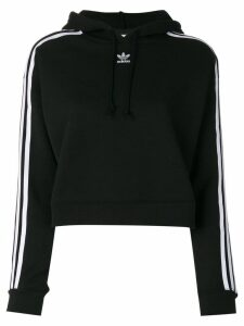 Adidas Adidas Originals cropped hoodie - Black