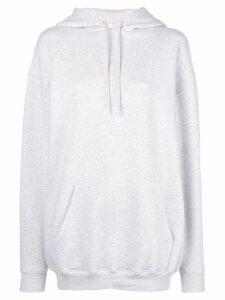 Balenciaga logo hood hoodie - Grey