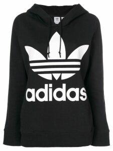 Adidas Adidas Originals Trefoil hoodie - Black
