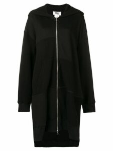 Mm6 Maison Margiela oversized hoodie - Black