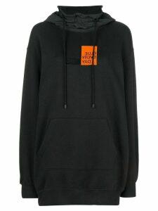 SJYP oversized hoodie - Black
