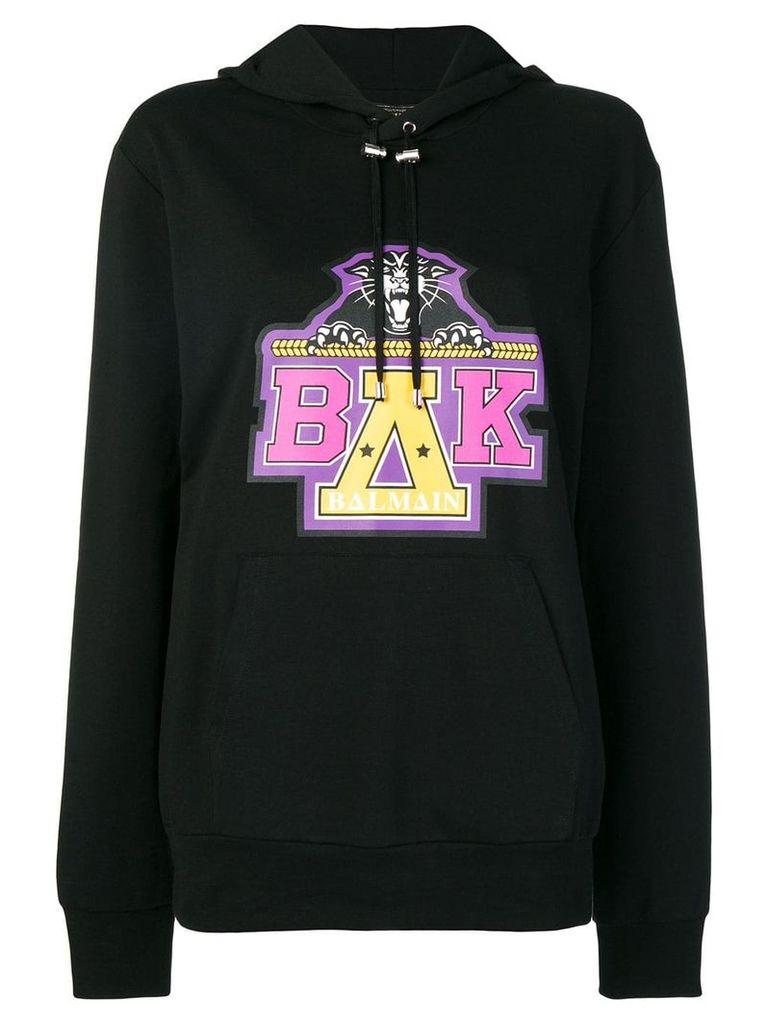 Balmain x Beyonce printed hoodie - Black