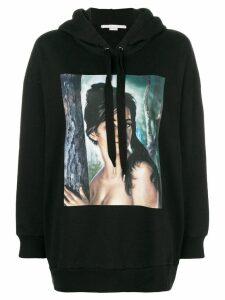 Stella McCartney graphic print hoodie - Black
