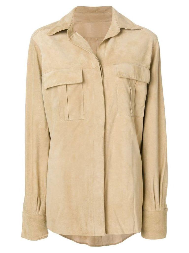 Holland & Holland chest pockets shirt - Neutrals