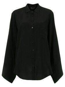 Uma Raquel Davidowicz General silk blouse - Black
