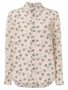 Prada printed button down shirt - Neutrals