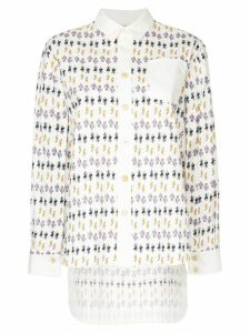 Marni patterned shirt - White