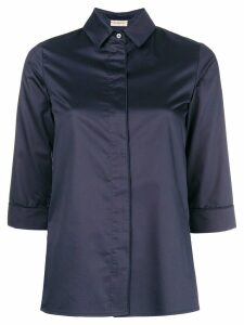 Blanca three-quarter sleeved shirt - Blue