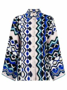 Emilio Pucci abstract print shirt - Multicolour