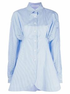 Ermanno Scervino ruched detail shirt - Blue
