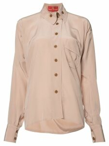 Vivienne Westwood Red Label Squiggle Krall shirt - Pink