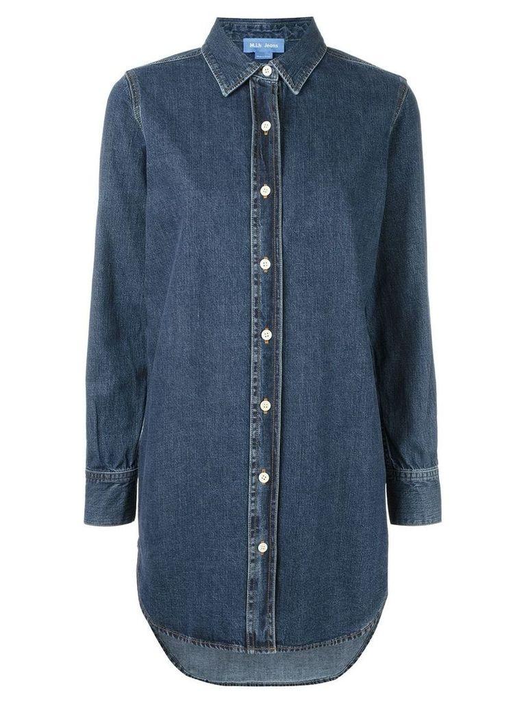 Mih Jeans oversize denim shirt - Blue