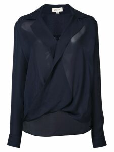 L'agence twisted top - Blue