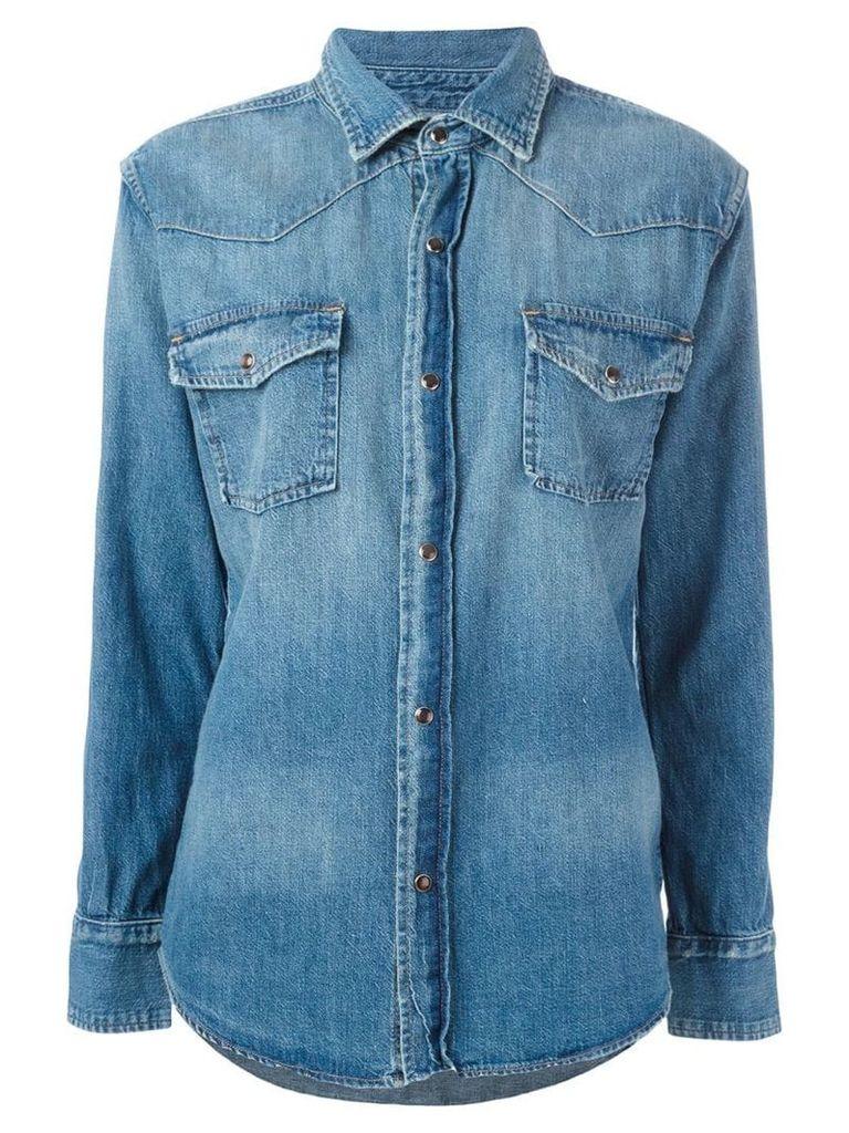 Current/Elliott denim shirt - Blue