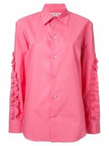 Marni ruffled shirt - Pink