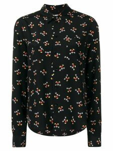 Saint Laurent all-over print shirt - Black