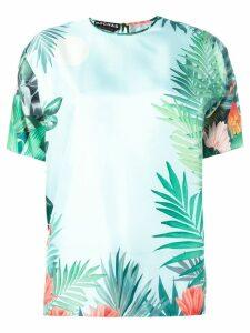 Rochas floral print blouse - Green