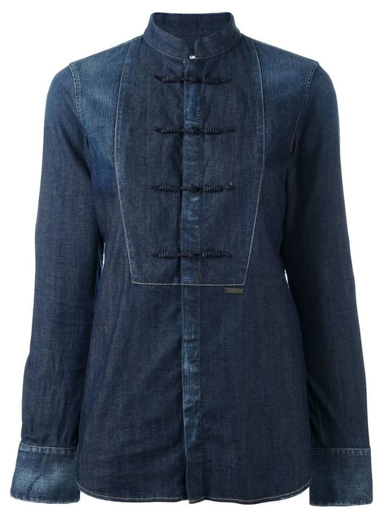 Dsquared2 'China Tux' shirt - Blue