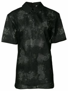 Carven lace shirt - Black