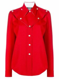 Calvin Klein 205W39nyc Western style shirt - Red