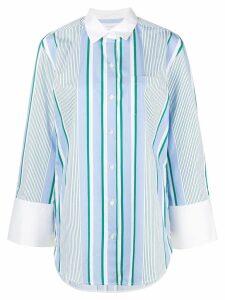 Equipment striped long shirt - Blue