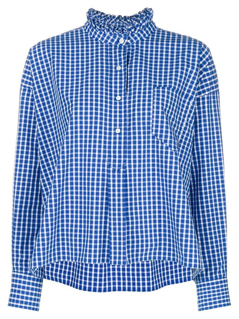 Isabel Marant Étoile checked shirt - Blue