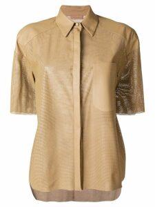 Drome shortsleeved shirt - Brown