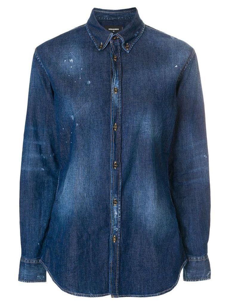 Dsquared2 denim shirt - Blue