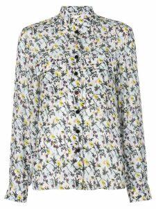 Chloé high neck floral print shirt - Multicolour