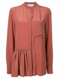Stella McCartney skirted detail shirt - Yellow