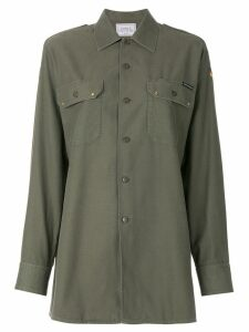 Forte Dei Marmi Couture embroidered back shirt - Green