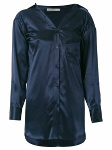 Martha Medeiros Barbara shirt - Blue
