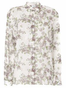 Giambattista Valli floral print shirt - White