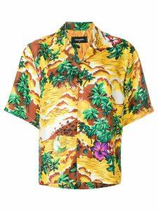 Dsquared2 exotic print shirt - Yellow