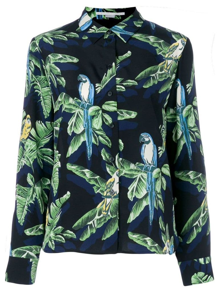 Stella McCartney tropical print shirt - Black