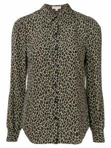 Michael Michael Kors leopard print fitted shirt - Neutrals