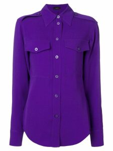 Joseph Rainer crepe blouse - Purple