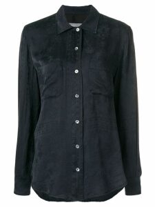 Raquel Allegra embroidered shirt - Black