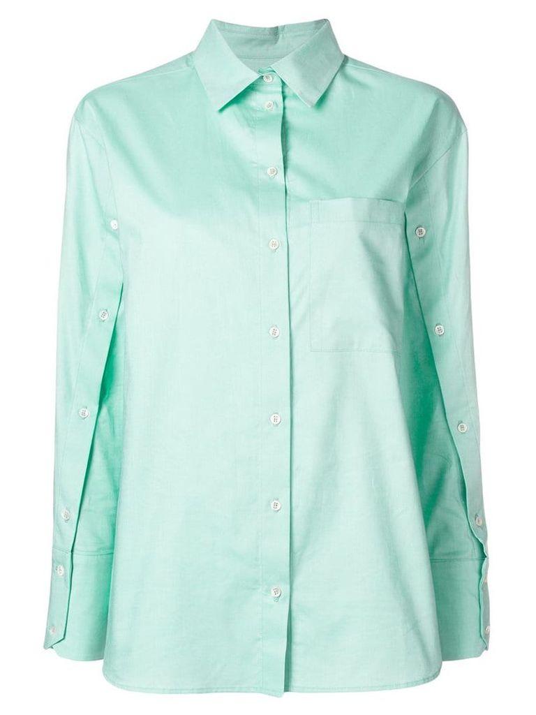 Frenken buttoned shirt - Green