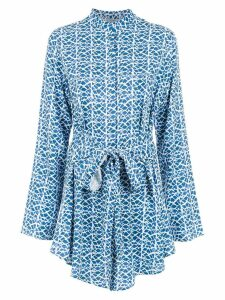 Tufi Duek printed top - Blue