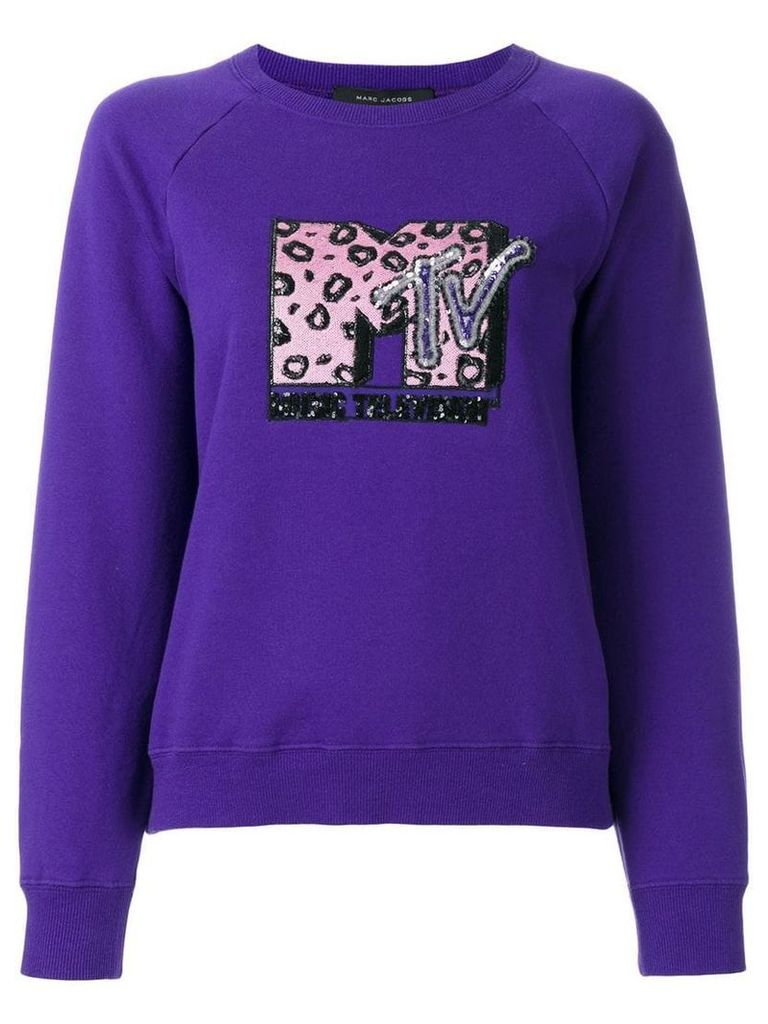 Marc Jacobs MTV x Marc Jacobs raglan sweatshirt - Purple
