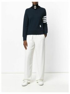 Thom Browne 4-bar stripe pullover - Blue
