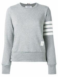 Thom Browne 4-bar stripe sweatshirt - Grey