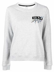 Kenzo logo print sweatshirt - Grey