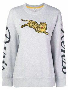 Kenzo jumping tiger sweatshirt - Grey