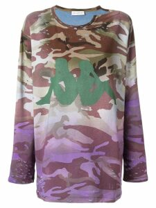 Faith Connexion camouflage print sweatshirt - Multicolour