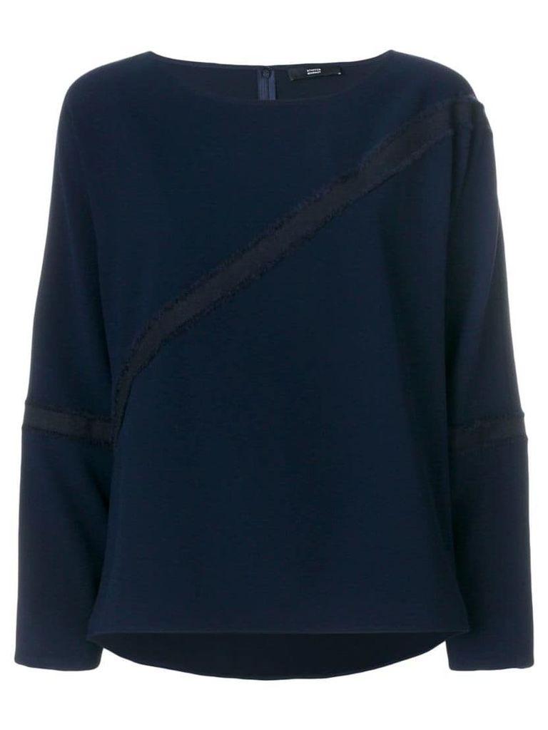 Steffen Schraut round neck sweatshirt - Blue