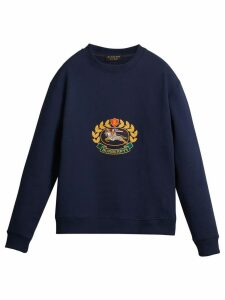 Burberry Reissued 1991 sweatshirt - Blue