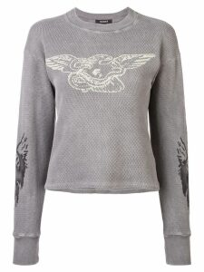 Yeezy loose fitted sweatshirt - Grey