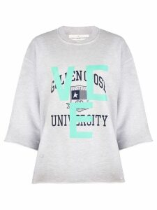 Golden Goose university print sweatshirt - Grey